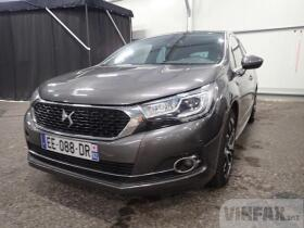 2016 DS Automobiles DS4 Berline 5 portes 1.6 THP S/S EAT6 SPORT CHIC, Petrol 165 HP, 5d, Auto 6speed vin: VF7NX5GZTGY550735