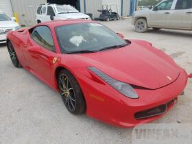 2011 Ferrari All Models Coupe 45L for Sale in Houston TX vin: ZFF67NFA0B0176327