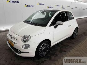 vin: ZFA3120000JA14603 2018 Fiat 500 TwinAir 80 Mirror 3D 59kW, Petrol 80 HP, Manual 5speed