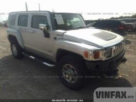 2010 Hummer H3 SUV 3.7L For Sale in Indianapolis IN vin: 5GTMNJEE3A8120934