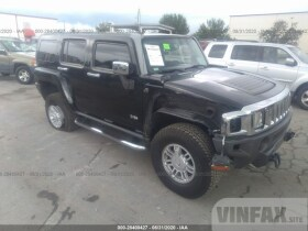 2010 Hummer H3 SUV 3.7L For Sale in Fort Pierce FL vin: 5GTMNJEE5A8121969
