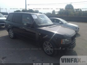 2010 Land Rover Range Rover 5.0L For Sale in Vermilion OH vin: SALMF1D45AA320602