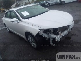vin: 3LN6L2LU1ER813183 2014 Lincoln MKZ 2.0L For Sale in New Castle DE
