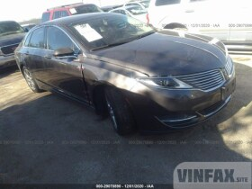 vin: 3LN6L2LU6FR629438 2015 Lincoln MKZ 2.0L For Sale in San Antonio TX