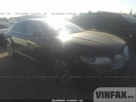 vin: 3LN6L5MU7HR655419 2017 Lincoln MKZ 2.0L For Sale in Gardena CA