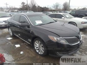 vin: 1LNHL9DK4DG613810 2013 Lincoln MKS 3.7L For Sale in Markham IL