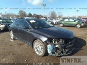 vin: 3LN6L2LU3DR803222 2013 Lincoln MKZ 2.0L For Sale in Markham IL