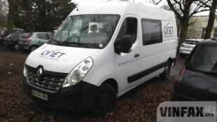 vin: VF1MAFCSC55307415 2016 Renault MASTER Fourgon lourd 2.3 DCI F33 L2H2 GRAND CONFORT, Diesel 125 HP, 4d, Manual 6speed