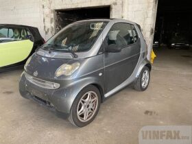 vin: WME01MC011H063359 2001 Smart Fortwo Cabriolet PULSE SUNROOF PROBLEM , 0.7 Petrol 61 HP, 2d, Automatic 6speed, Rear Whe