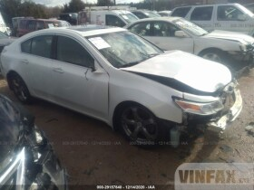 vin: 19UUA9F52BA001638 2011 Acura TL 3.7L For Sale in Concord NC