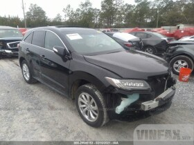 vin: 5J8TB3H57HL012263 2017 Acura RDX 3.5L For Sale in Milton FL