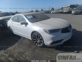 vin: 19UUB2F37KA000603 2019 Acura TLX 3.5L For Sale in Rancho Cordova CA