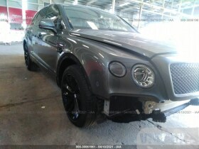 vin: SJAAC2ZVXJC019002 2018 Bentley Bentayga 6.0L For Sale in Sharjah SHJ