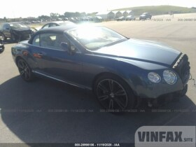 vin: SCBGT3ZA4DC085208 2013 Bentley Continental GT V8 4.0L For Sale in Pembroke Pines FL