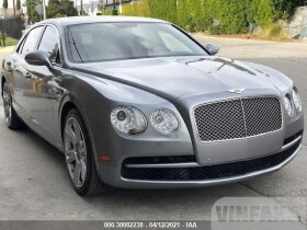 vin: SCBET9ZA6FC042678 2015 Bentley Flying Spur 4.0L For Sale in Glendale CA