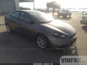 vin: 1C3CDFBA3DD342197 2013 Dodge Dart 2.0L For Sale in Wilmer TX