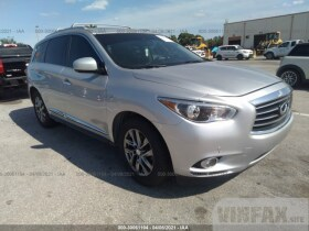 vin: 5N1AL0MN8EC539596 2014 Infiniti Qx60 3.5L For Sale in Southwest Ranch FL