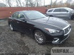 vin: JN1EV7AR2LM255729 2020 Infiniti Q50 3.0L For Sale in Detroit MI