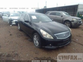 vin: JN1CV6AR9AM457188 2010 Infiniti G37 Sedan 3.7L For Sale in Grenada MS
