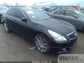 vin: JN1CV6AR5BM408362 2011 Infiniti G37 Sedan 3.7L For Sale in West Chester OH