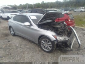 vin: JN1BV7AP8FM344968 2015 Infiniti Q50 3.7L For Sale in Hudson FL