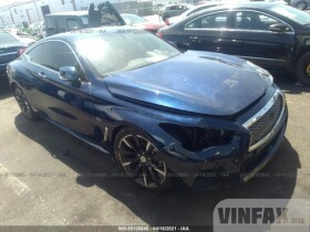 vin: JN1EV7EK1HM362274 2017 Infiniti Q60 3.0L For Sale in Gardena CA