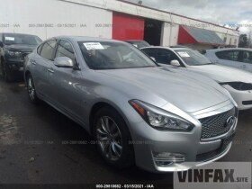 vin: JN1BY1AP1HM740666 2017 Infiniti Q70 3.7L For Sale in Portland OR