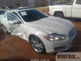 vin: SAJWA0HE0AMR61894 2010 Jaguar XF 5.0L For Sale in Concord NC