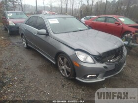 vin: WDDHF8HB0BA378408 2011 Mercedes-benz E-class 3.5L For Sale in Yorktown VA