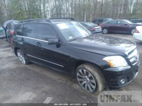 vin: WDCGG5GB1BF595515 2011 Mercedes-benz Glk-class 3.5L For Sale in Brandywine MD