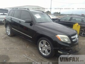 vin: WDCGG5HB7DF964458 2013 Mercedes-benz Glk-class 3.5L For Sale in Winder GA
