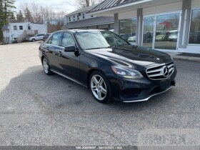 vin: WDDHF8JB0EB039575 2014 Mercedes-benz E-class 3.5L For Sale in Salem NH