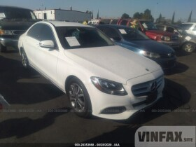 vin: 55SWF4JBXGU123198 2016 Mercedes-benz C-class 2.0L For Sale in Wilmington CA