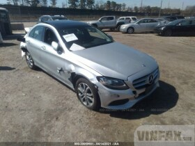 vin: WDDWF4KB6GR142055 2016 Mercedes-benz C-class 2.0L For Sale in Medford NY