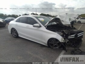 vin: 55SWF4JB6HU231870 2017 Mercedes-benz C-class 2.0L For Sale in Pembroke Pines FL