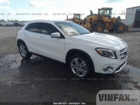 vin: WDCTG4GB5LU027869 2020 Mercedes-benz GLA 2.0L For Sale in Clayton NC