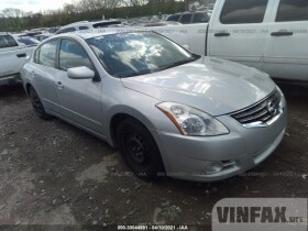 vin: 1N4AL2AP6AN457778 2010 Nissan Altima 2.5L For Sale in Nashville TN