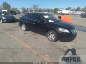 vin: 3N1AB7AP1EY315294 2014 Nissan Sentra 1.8L For Sale in Ashland VA