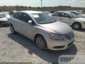 vin: 3N1AB7AP2EL667488 2014 Nissan Sentra 1.8L For Sale in Milton FL