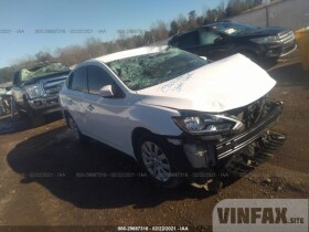 vin: 3N1AB7AP9KY228044 2019 Nissan Sentra 1.8L For Sale in Grenada MS