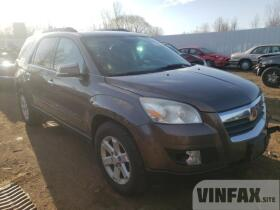 vin: 5GZLRTED7AJ203882 2010 Saturn Outlook Xe 3.6L