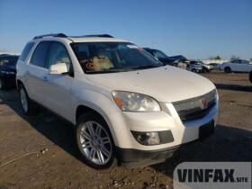 vin: 5GZLRWED0AJ209332 2010 Saturn Outlook Xr 3.6L