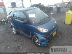 vin: WMEEJ3BA2AK320874 2010 Smart Fortwo 1.0L For Sale in Nashville TN