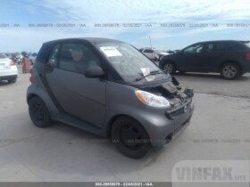 vin: WMEEJ3BA3EK739242 2014 Smart Fortwo 1.0L For Sale in Wilmer TX