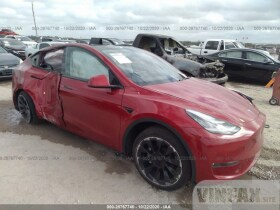vin: 5YJYGDEE6LF034718 2020 Tesla Model Y Dual Motor Fr AC Induction For Sale in Justin TX
